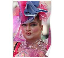 Drag Queen, Gay Pride NYC 2010 Poster
