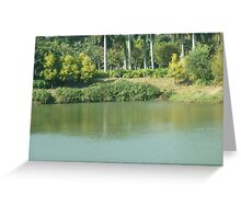 A peaceful little lagoon. Greeting Card