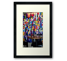 Buoy's Corner Framed Print