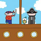 Pirates - Print, Card & Poster by oekies
