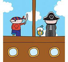 Pirates - Print, Card & Poster Photographic Print