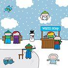 Winter - Print, Card & Poster by oekies