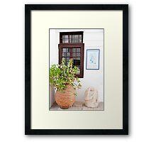 Classical Windows Framed Print
