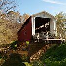 The Hills Covered Bridge by Jeanne Sheridan