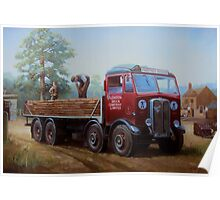 AEC Mammoth Major London Brick. Poster