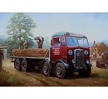 AEC Mammoth Major London Brick. Photographic Print