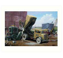 Fordson 7V Wimpy Art Print