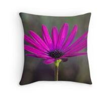 One Lonely Flower Throw Pillow