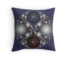Kleinian Marble II Throw Pillow
