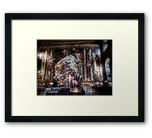 The West Wall of the Painted Hall Framed Print