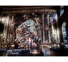 The West Wall of the Painted Hall Photographic Print