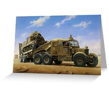 Scammell Pioneer  Greeting Card