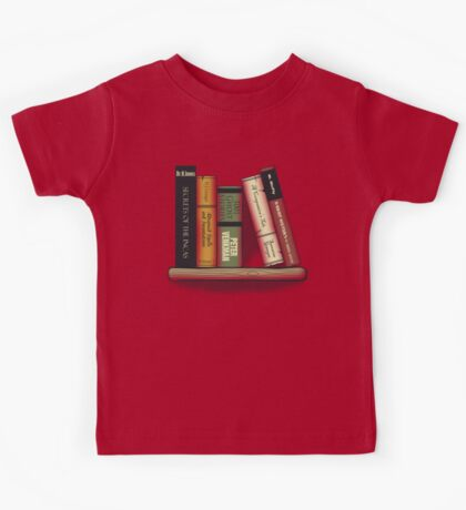 Recommended Reading Kids Tee