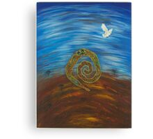 Paarna - (to fly away) Canvas Print