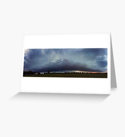 Severe Storm - December 12 2011 Greeting Card