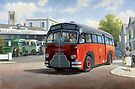 Midland Red C1 coach. by Mike Jeffries