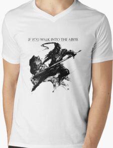 Artorias of the Abyss Mens V-Neck T-Shirt
