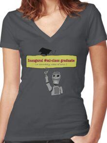 #ml-class tshirt Women's Fitted V-Neck T-Shirt