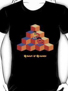 Q*Bert and Q*ernie T-Shirt