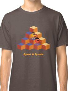 Q*Bert and Q*ernie Classic T-Shirt