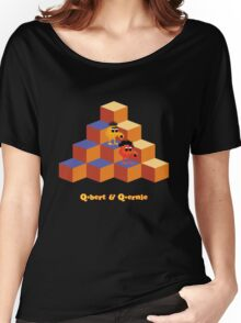 Q*Bert and Q*ernie Women's Relaxed Fit T-Shirt