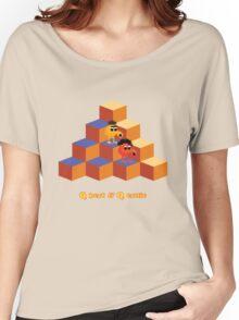 Q*Bert and Q*ernie Women's Relaxed Fit T-Shirt