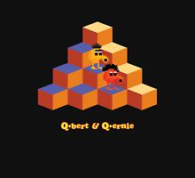 Q*Bert and Q*ernie Unisex T-Shirt