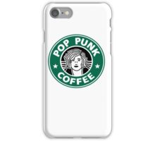 Pop Punk Coffee iPhone Case/Skin