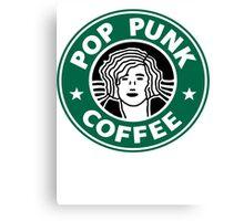 Pop Punk Coffee Canvas Print