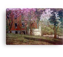 Árboles en flor Canvas Print