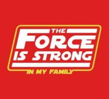 Strong In My Family Kids Tee
