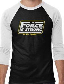 Strong In My Family Men's Baseball ¾ T-Shirt