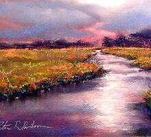 Fall on Goshen Marsh by Peter R Davidson