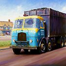 TVW bulk coal lorry by Mike Jeffries