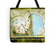 Mary Pondered Tote Bag
