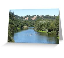 Magnificent Russian River Greeting Card