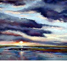 20x16 pastel by Peter R Davidson