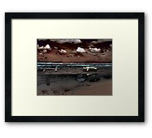 Surrealistic Seascape VI Framed Print