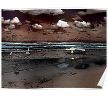 Surrealistic Seascape VI Poster