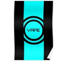 Vape Turquoise Vector Design  Poster