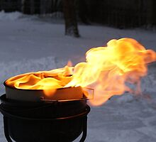A pot of fire by Susanna Hietanen