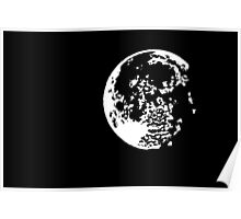 Moon - I see the moon.... Poster