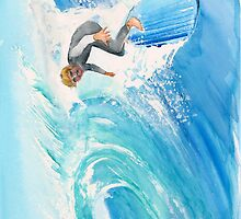 Catch a Wave - IPhone Case by Rob Beilby