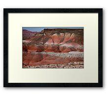 The Painted Desert  8018 Framed Print
