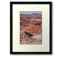 The Painted Desert  8024 Framed Print