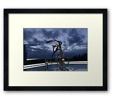 Blue Visions 6 Framed Print