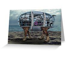 Beach Hopper  Greeting Card