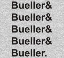 Bueller, Bueller, Bueller, anyone?  by Celeste Yim