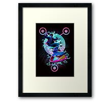 Hoverboard to the Future Framed Print