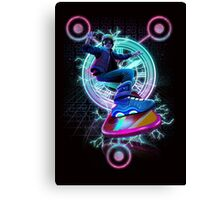 Hoverboard to the Future Canvas Print